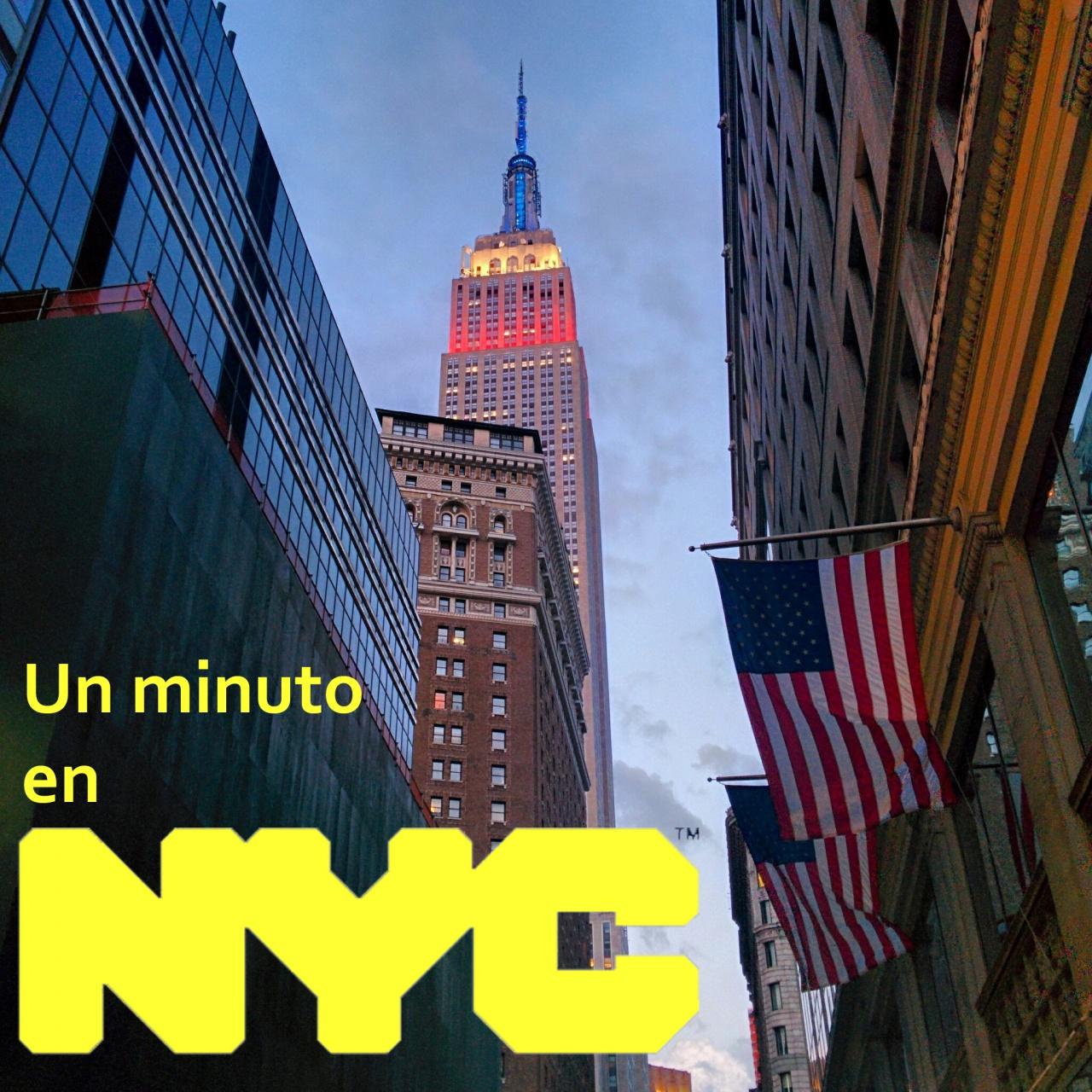 Logo de Un minuto en Nueva York