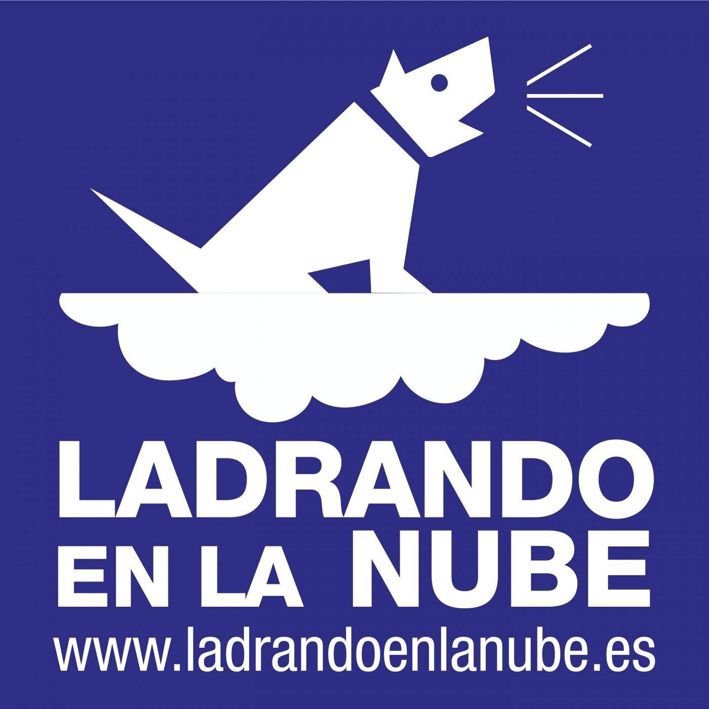 Logo de Ladrando en la nube