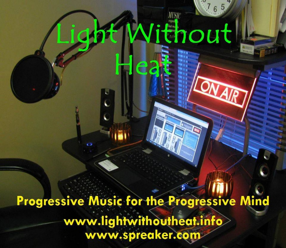 LIGHT WITHOUT HEAT - show cover
