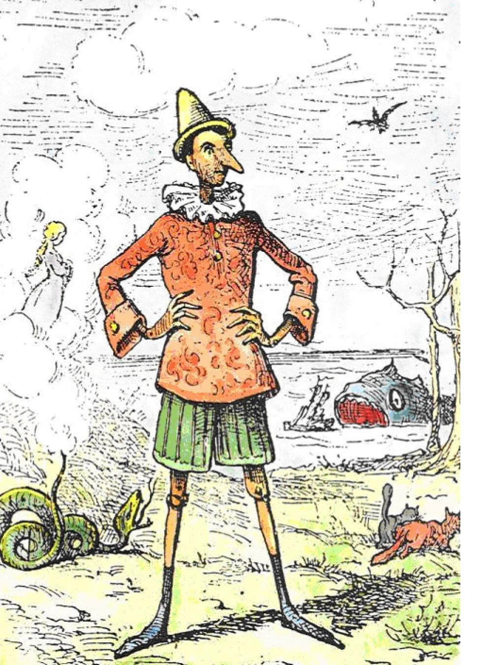 Collodi: Le avventure di Pinocchio - show cover