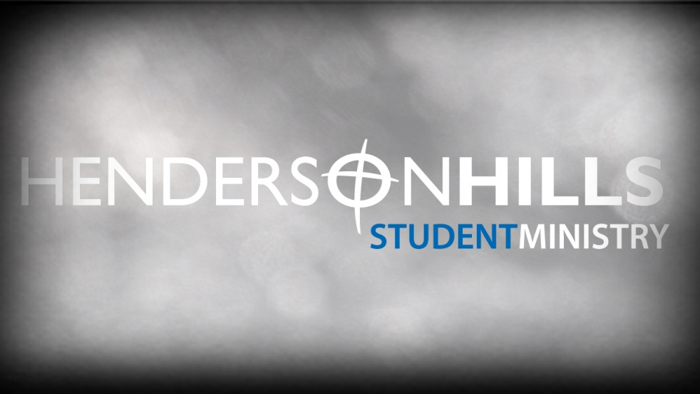 HHBC Student Ministry - show cover