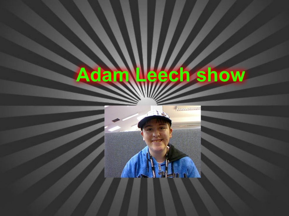The Adam Leech Show - show cover