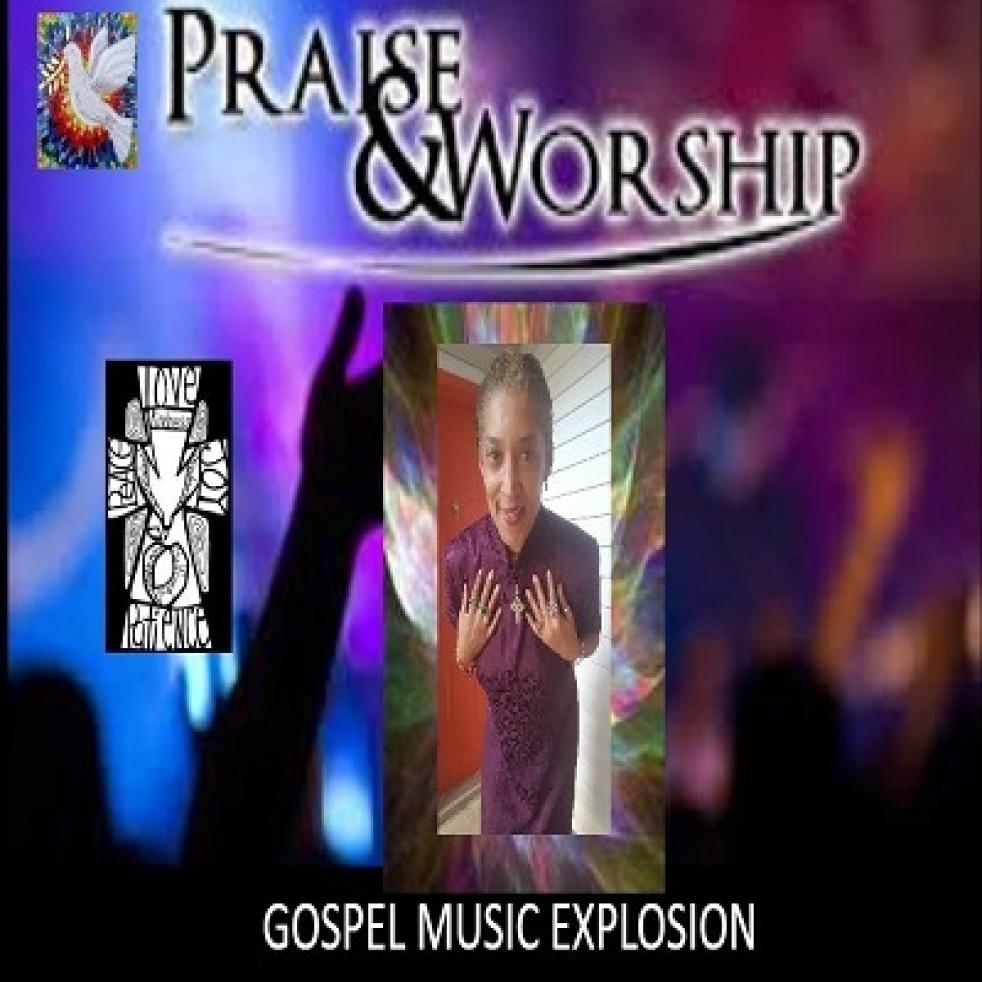GOSPEL MUSIC EXPLOSION - show cover