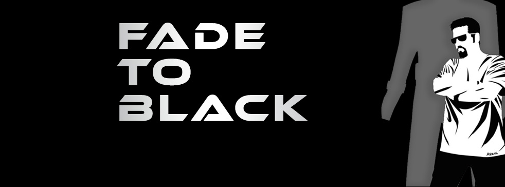 FADE to BLACK - show cover