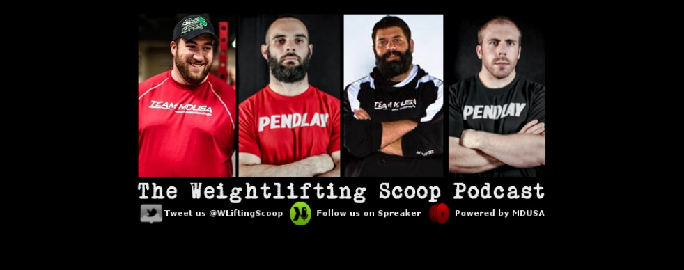 The Weightlifting Scoop Show - show cover