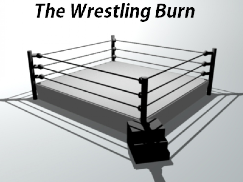 The Wrestling Burn - show cover