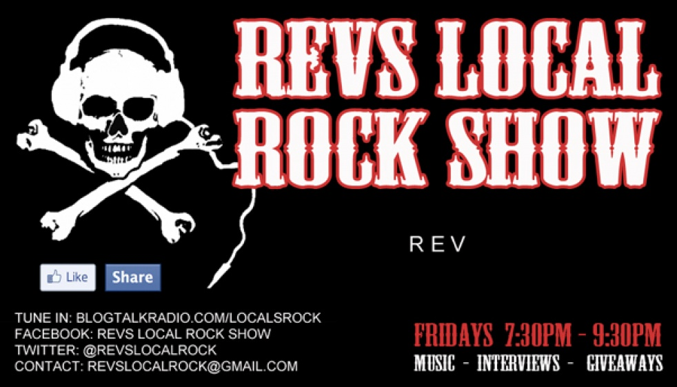 Revs Local Rock Show - show cover