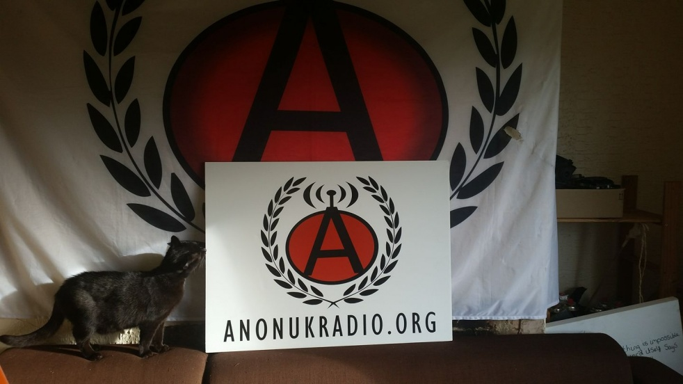 The AnonUK Radio Show - show cover
