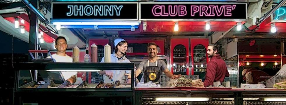 Jhonny Club Privè - show cover