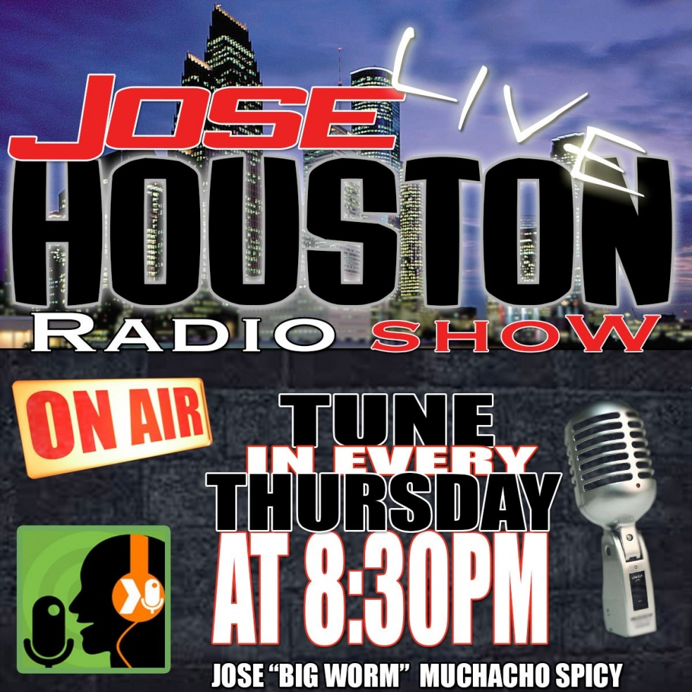 Jose houston live radio show - show cover