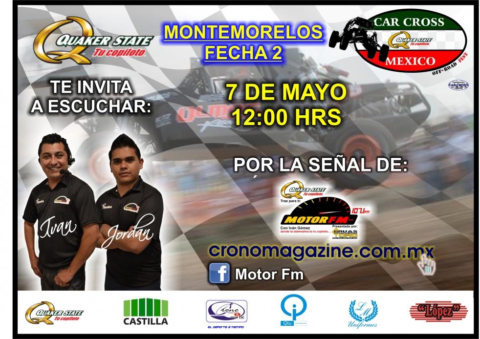 CAR CROSS QUAKER STATE MEXICO 2017 - show cover