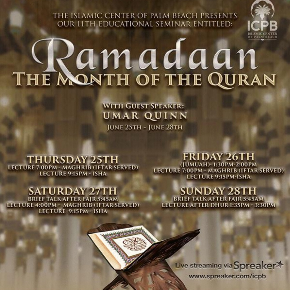 Ramadan - The Month of the Quran - show cover