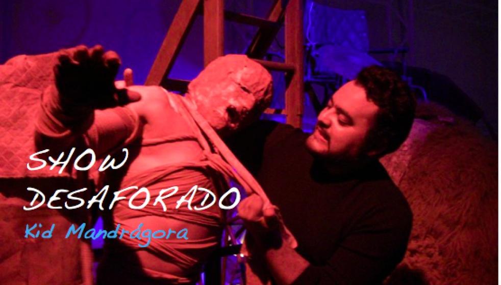 Show Desaforado - show cover
