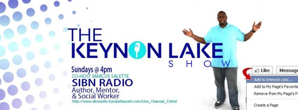 The Keynon Lake Show on SIBN - show cover