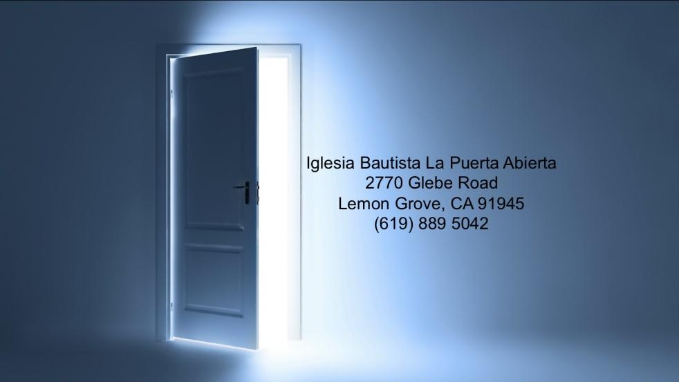 Iglesia Bautista La Puerta Abierta - show cover