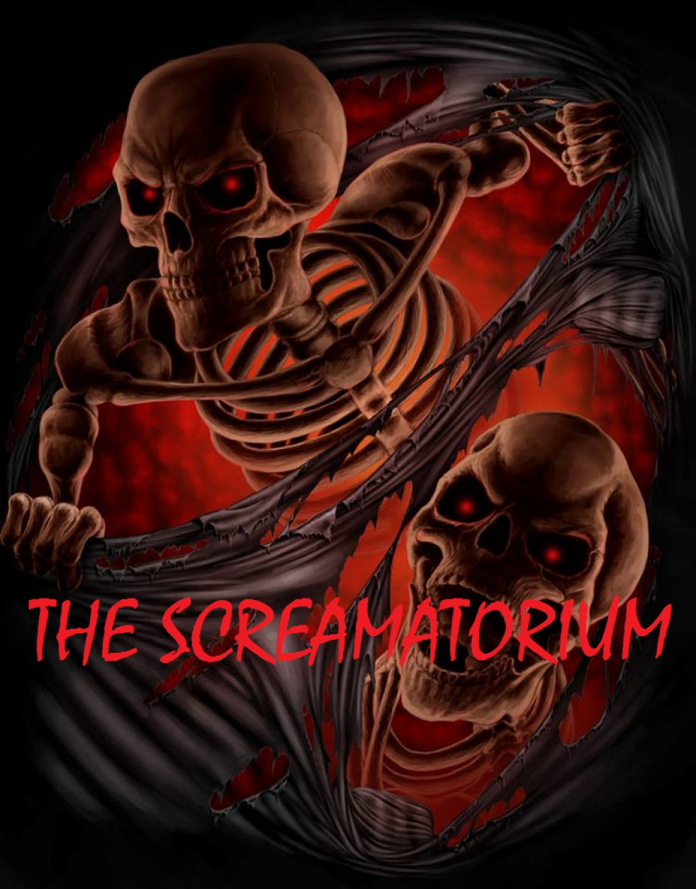 THE SCREAMATORIUM - show cover