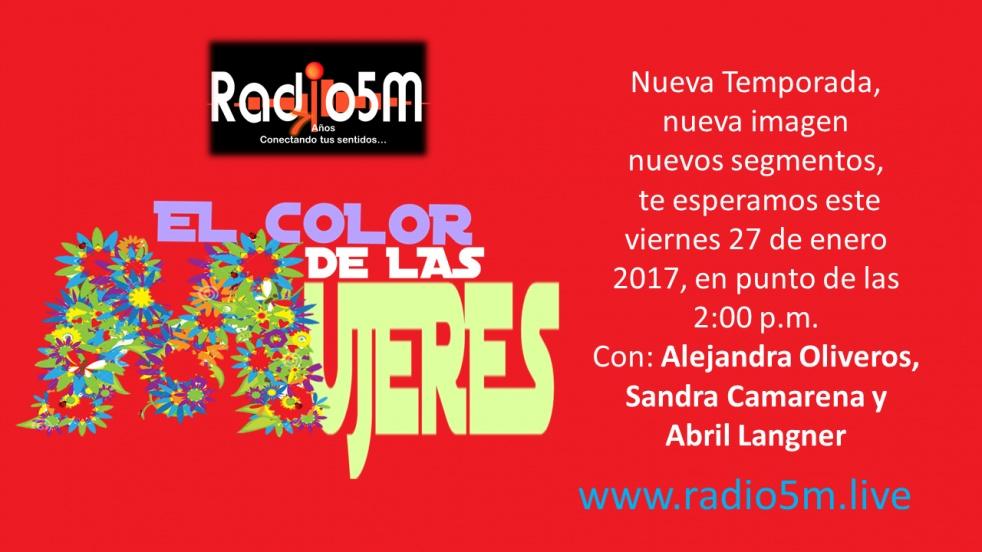 El Color de Las Mujeres-2017 - show cover