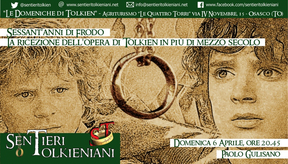 Le Domeniche di Tolkien - show cover