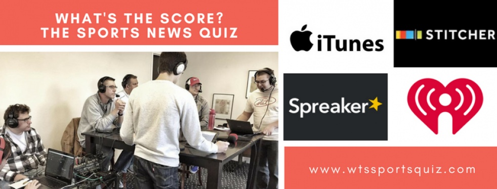 What's The Score? The Sports News Quiz - show cover
