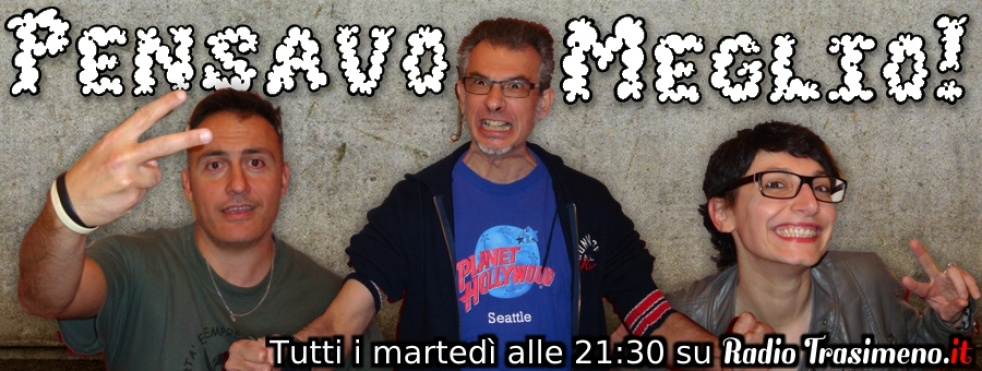 Pensavo Meglio! - show cover