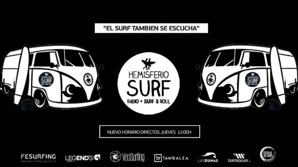 Hemisferio Surf Radio - show cover