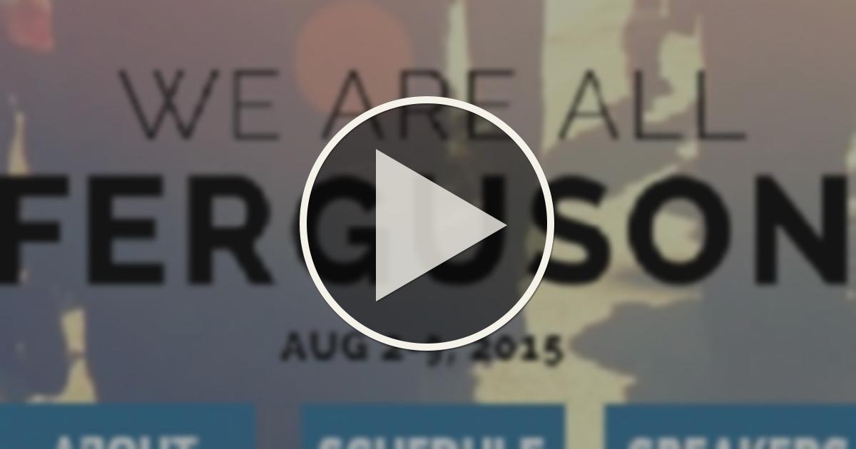 We Are All Ferguson - Magazine cover