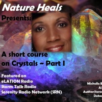 A short Course on Healing w/ Crystals, Part I,  w/ co-host Kimmie Kim