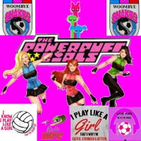POWER PUFF GIRLS ( Talking Ladies' Football at Woombye Snakes  F.C. )