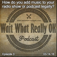 How do you add music to your radio show or podcast legally?