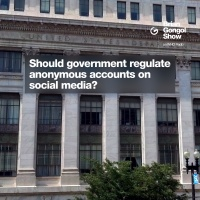 Should the government regulate anonymous accounts on social media?
