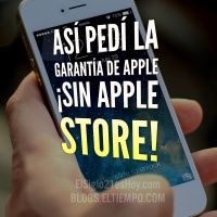 Así pedí garantía de Apple SIN Apple Store