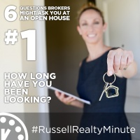 Open House questions - How long have you been looking?