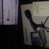 14 microfono AT2005USB/XLR