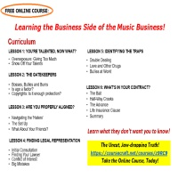 Welcome - Online Course: Learning the Business Side of the Music Business