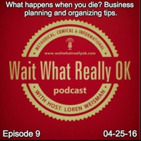 What happens when you die? Business planning and organizing tips.