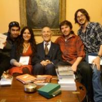 Edgar Morin en Lima-Perú 29-5-12 CC.URP