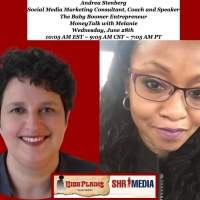"""Andrea Stenberg, Social Media Marketing Consultant, Coach and Speaker, The Baby Boomer Entrepreneur talks """"Social Media Marketing for Small"""