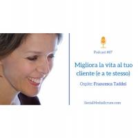 #87 Customer experience - intervista a Francesca Taddei