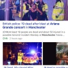 Bomb attack at Ariana Grande Concert in Manchester Uk