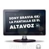 La pantalla del TV es el altavoz 🔊