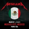 Metallica - concurso bandas mexicanas