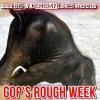 Behind Enemy Lines - GOP's Rough Week