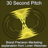 30 Second Pitch - Loren Weisman explaining Brand Precision Marketing.