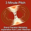 3 Minute Pitch - Loren Weisman Explaining Brand Precision Marketing.