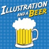 Illustration and a Beer