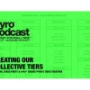 Pyro Podcast - Show 271 - Creating Our Collective Tiers