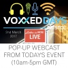 VOXXED DAYS RADIO - LIVE FROM BRISTOL