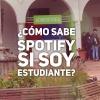 ¿Cómo sabe Spotify si soy estudiante?
