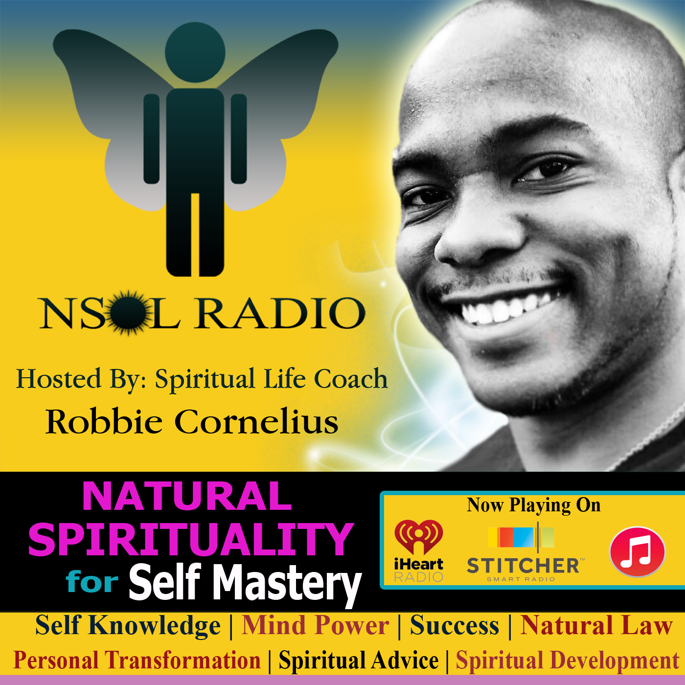NSOL Radio: Spiritual But Not Religious | Self Mastery | Personal Transformation | Spiritual Advice | Spiritual Development | Spiritual Coaching | Secular | Self Knowledge