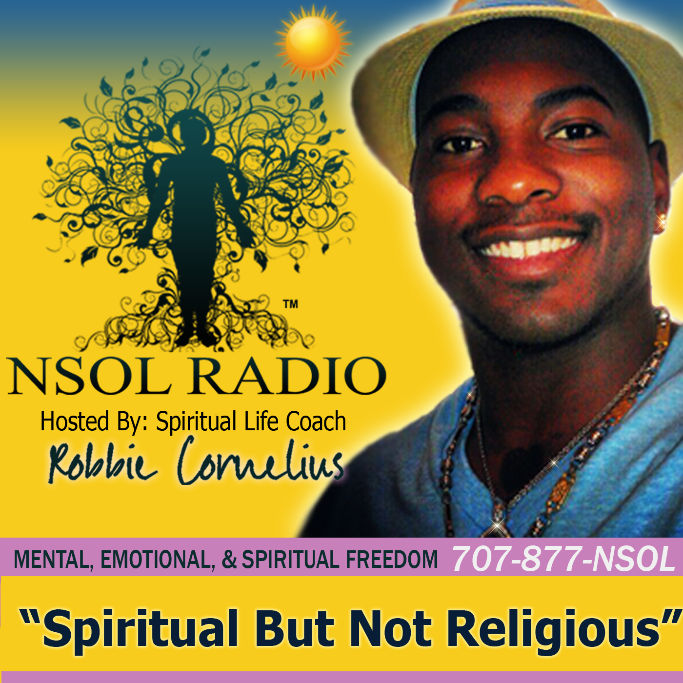NSOL Radio:  Spiritual But Not Religious | Spiritual Advice | New Age Spirituality | Metaphysics | Spiritual Life Coach | LOA